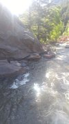Rock Climbing Photo: Some big rocks in a creek.