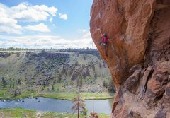 Rock Climbing Photo: Using the short person beta on the crux works for ...
