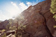 Rock Climbing Photo: Preston on Serpentine Crack / 2016
