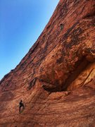 Rock Climbing Photo: Roar of the Greasepaint (5.10a)