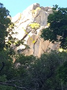 Rock Climbing Photo: The mission, should you choose to accept it