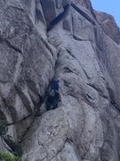 Rock Climbing Photo: Bustin out some KGB moves