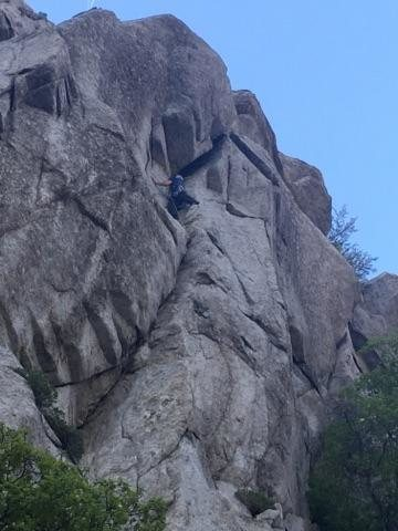 Rock Climbing Photo: Almost to Moscow