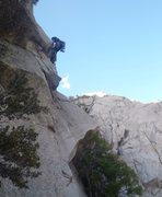 Rock Climbing Photo: The A1 move