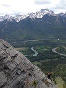 Rock Climbing Photo: Jordan following pitch 5