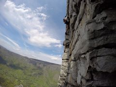 Rock Climbing Photo: Going up Dopey Duck