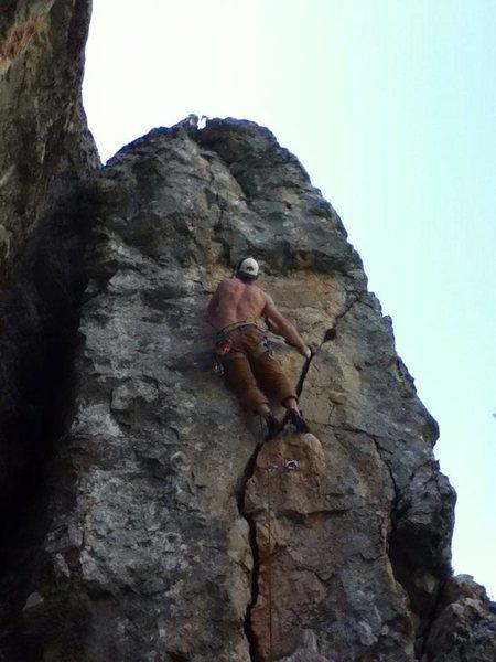 Rock Climbing Photo: Loving it!!