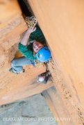 Rock Climbing Photo: Zach Harrison on the OW pitch 5  Photo Blake McCor...