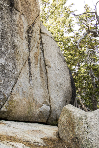 Rock Climbing Photo: Morgan Crack