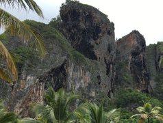 Rock Climbing Photo: Genesis wall
