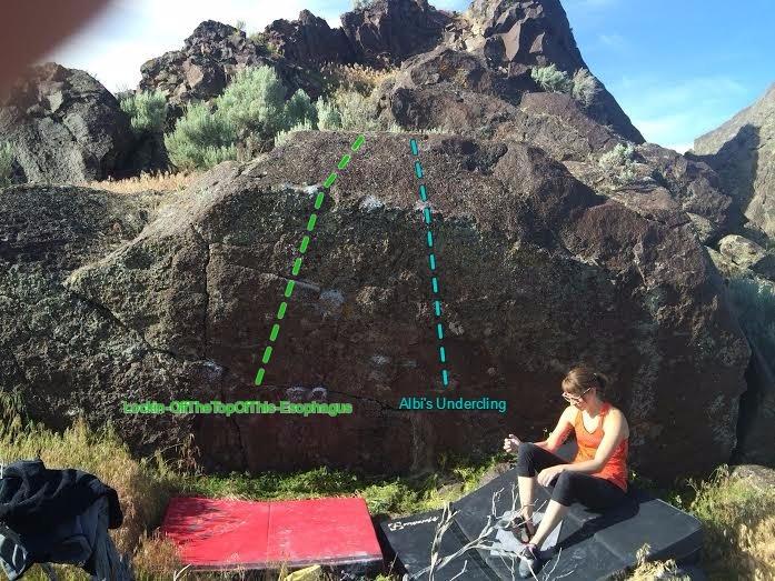 Rock Climbing Photo: Conchord Boulder