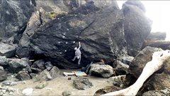Rock Climbing Photo: Gawko [v5] crux