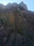 "Rock Climbing Photo: ""Track of the Moon Beast"" Carry a handfu..."