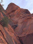 Rock Climbing Photo: Great Red Book, Red Rock NV