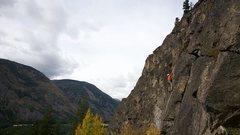 Rock Climbing Photo: Leading the 10b at Europa Photo Credit: Darryl Han