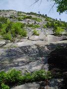 "Rock Climbing Photo: On P1 of ""5.6 Variation"""