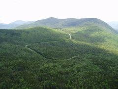 Rock Climbing Photo: Nice Views !  The Kanc from top of P4