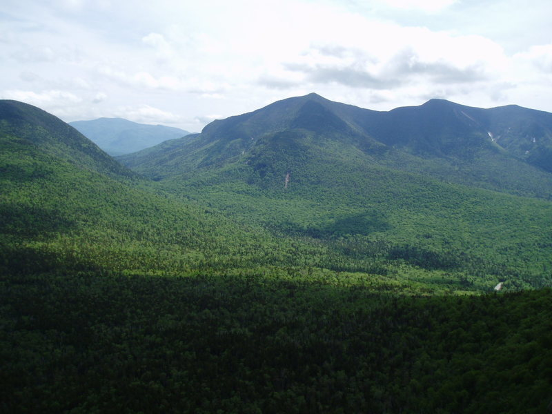 More Nice Views! Mt Sandwich (thru Greely Notch) and the Osceolas.