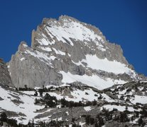 Rock Climbing Photo: Bear Creek Spire from Morgan Pass.