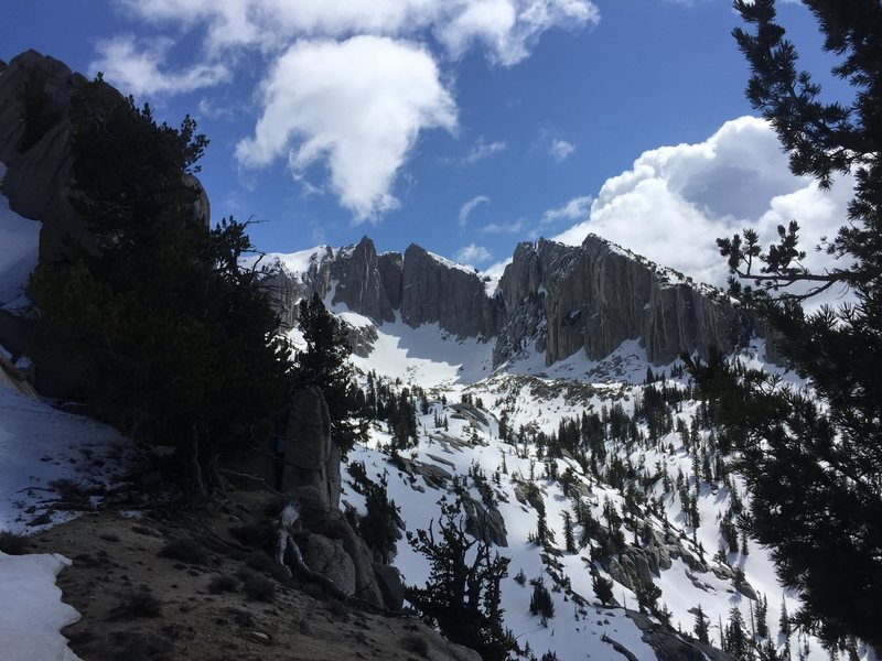 Lone Peak Cirque, Saturday May 28th, 2016