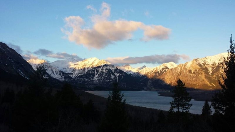 Waterton Lakes in late winter