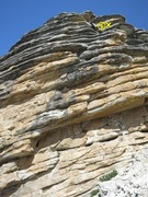 Rock Climbing Photo: The Talon, looking up at Eagle Ease and Out of the...