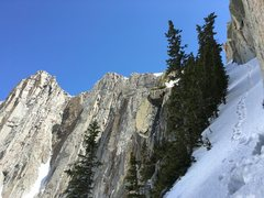 Rock Climbing Photo: Lone peak