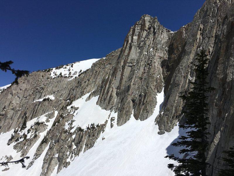 Rock Climbing Photo: Ione peak