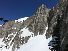 Rock Climbing Photo: Ione peak