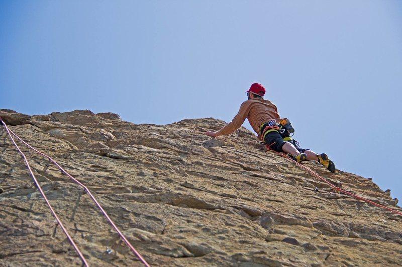 Rock Climbing Photo: leading Paparazzi
