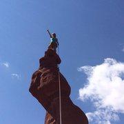 Rock Climbing Photo: Ancient Art, Moab