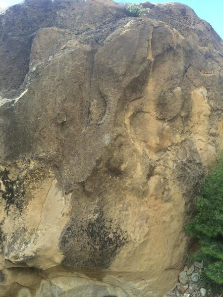 Rock Climbing Photo: Starts in the middle of this photo, I think..?  Co...