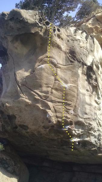 Rock Climbing Photo: Gerstle Cove Roof