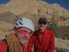 Rock Climbing Photo: With Steve Rydalch .. 2015 Eastern Reef .Utah