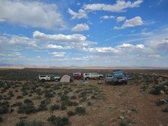 Rock Climbing Photo: Campsite Swell 2015