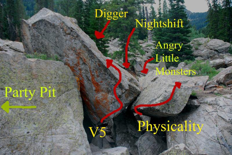 Rock Climbing Photo: Betas...