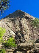Rock Climbing Photo: Slappin ze bass wall