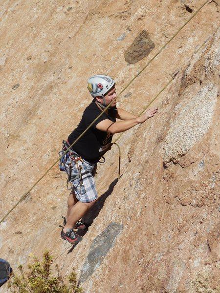 Rock Climbing Photo: Rainy Day Woman