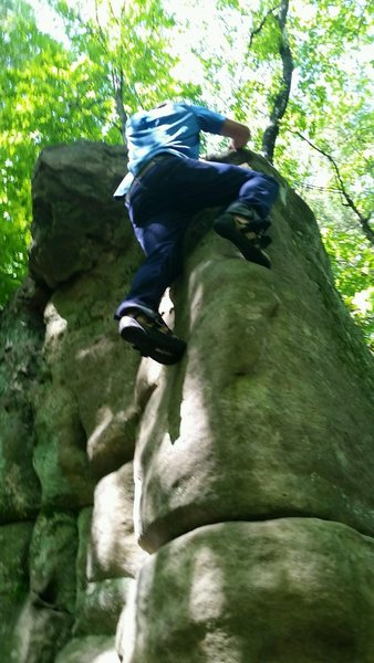 Rock Climbing Photo: Cfresh