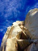Rock Climbing Photo: The X Crack!!!!
