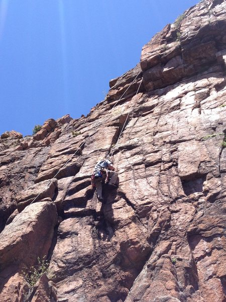 John near the crux of Black Bart.