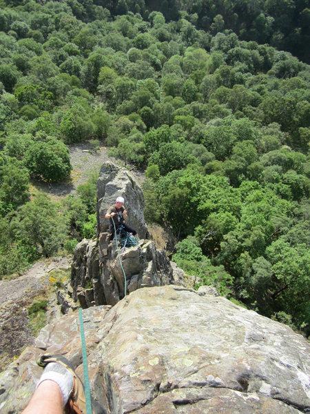 Rock Climbing Photo: Alan Hinkes on Black Crag 2016