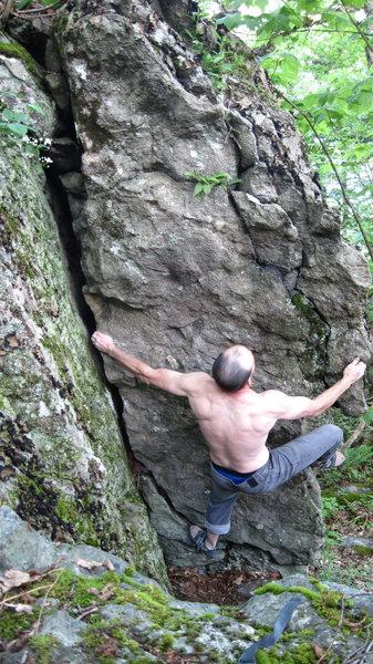 Rock Climbing Photo: Renegade Pervert
