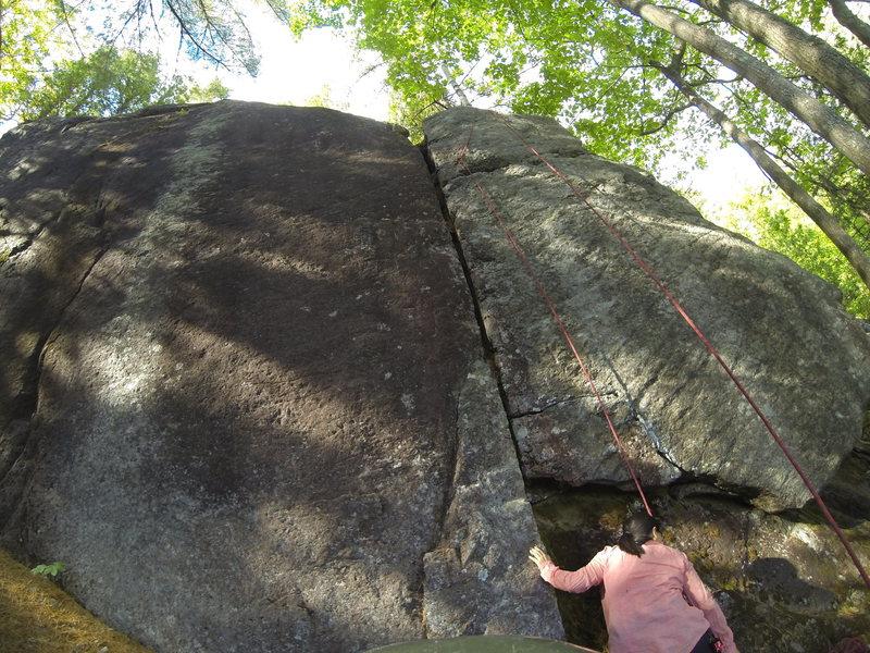Rock Climbing Photo: Coincement
