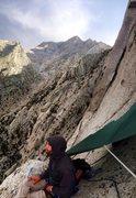 Rock Climbing Photo: Improv Bivi #90648.5!!!