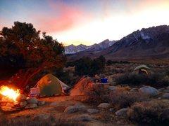 Rock Climbing Photo: Buttermilk Base Camp!!!