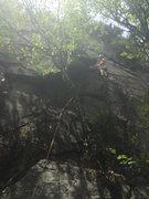 Rock Climbing Photo: Conor Mark, FA of Deet-less Dirtbags