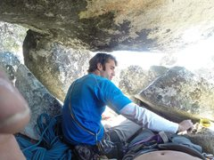 Rock Climbing Photo: Personal space is overrated!!!