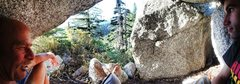 Rock Climbing Photo: UFO Pano Bivi!!