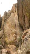 Rock Climbing Photo: Maiden, nice little hand crack.